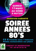 Soirée DISCO Années 80