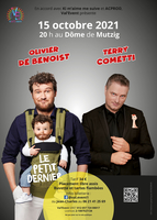 Olivier De Benoist et Terry Cometti