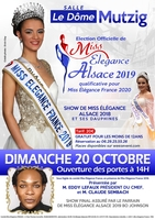 Election de Miss Elegance Alsace 2019